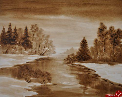 نقاشی با نفت خام