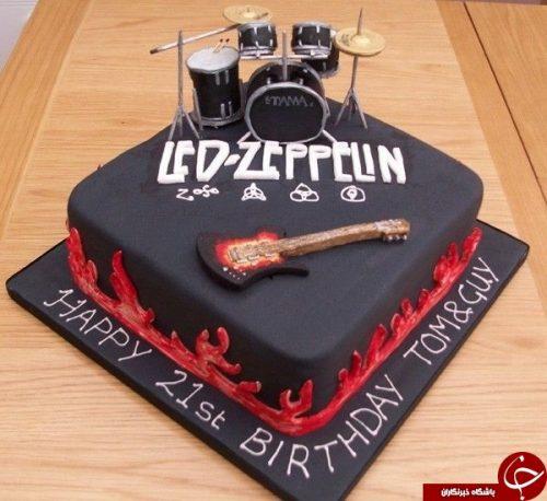 کیک تولد پسرانه
