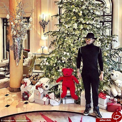 کریسمس بچه پولدارهای اروپا