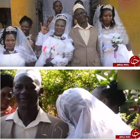 ازدواج یک مرد با سه زن