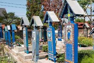 شادترین قبرستان جهان در کشور رومانی!
