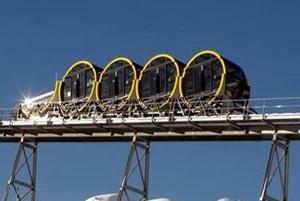 سریعترین قطار کابلی جهان در سوئیس!