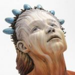آثار هنری بی نظیر مجسمه ساز آمریکایی با استفاده از خاک رس سفید!