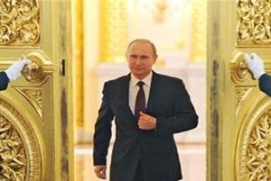 وقتی پوتین رییس جمهور روسیه یک خانواده را غافلگیر میکند!