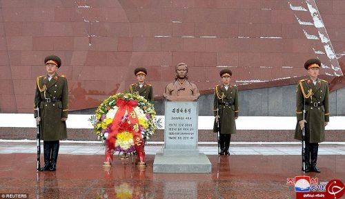 جشن تولد مادربزرگ رهبر کره شمالی