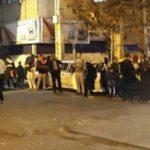 تصاویری از مردم پس از زلزله در تهران!