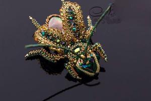 ساختن جواهرات گران بها و دیدنی به شکل سوسک!