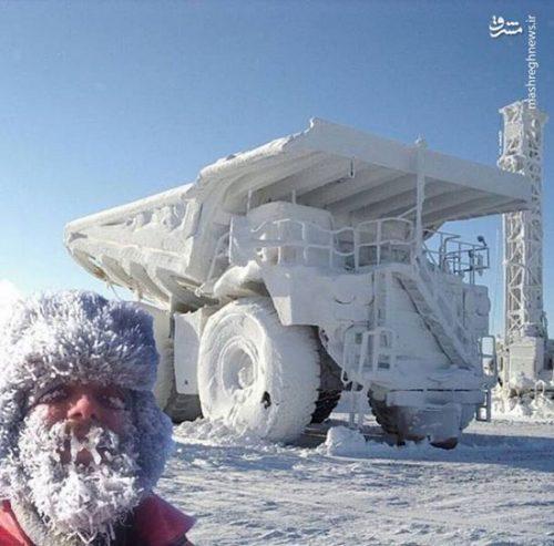 سرمای شدید فصل زمستان