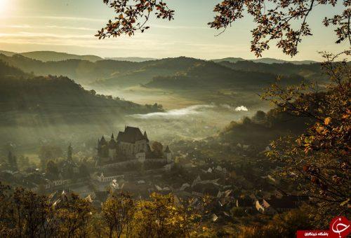 طبیعت کشور رومانی