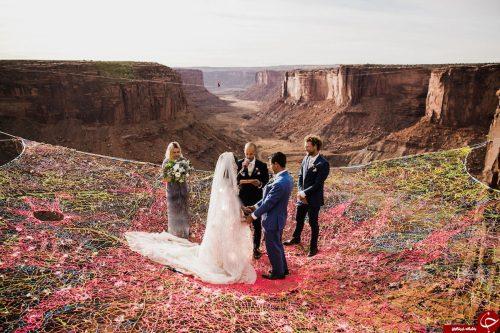 مراسم عروسی در دره