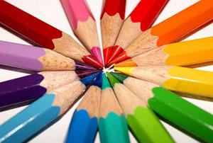 نخستین نمونه مداد رنگی کشف شده را ببینید!