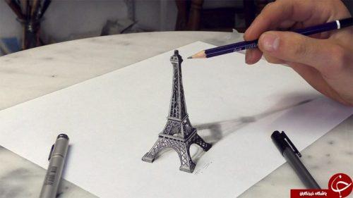 نقاشی های سه بعدی