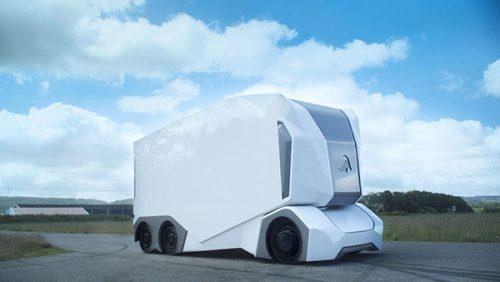 کامیون های بدون راننده