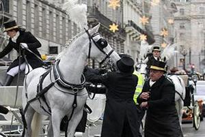 اتفاقی که در مراسم رژه سال نوی میلادی حضار را ناراحت کرد!