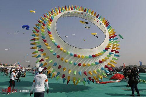 جشنواره بادبادکها در هند