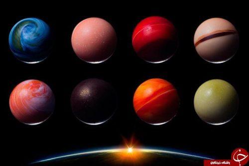 شکلات های شبیه سیاره