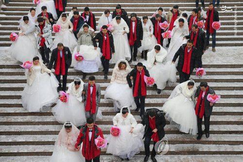 ازدواج دسته جمعی چینی ها
