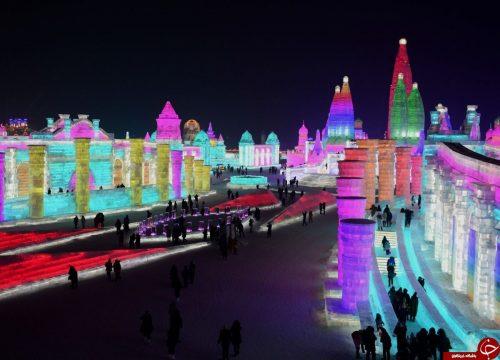 قصرهای برفی در چین