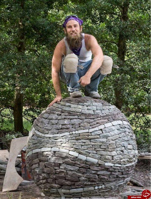 ساخت مجسمه های سنگی