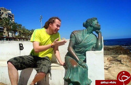 مجسمه های سوژه عکاسی