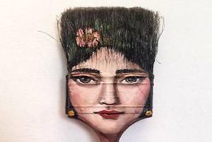 ساختن آثار هنری با وسایل دور ریختنی توسط هنرمند آمریکایی!