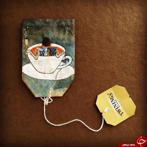 بسته بندی های جالب چای کیسه ای