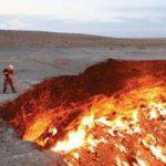 میدان گازی عظیم که پس از سالها که هنوز شعله ور است!
