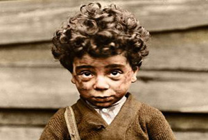 کودکان آمریکایی در صد سال گذشته!