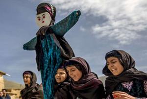 برگزاری رسم زیبای «صدای پای بهار» در کندوله برای استقبال از نوروز!