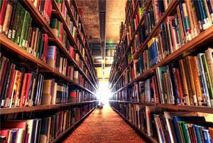 کتابخانه ای بزرگ که با تلاش کارگران ساخته شده است!