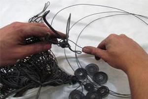 ریچارد استنتورپپ هنرمندی که با سیم مجسمه های خارق العاده می سازد!