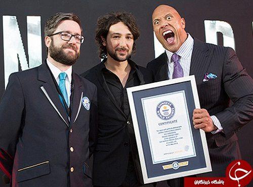 رکوردهای افراد مشهور در گینس