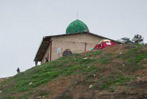 مجموعه گورستان و زیارتگاه خالدنبی در شهرستان گنبد کاووس!