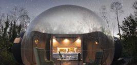 هتل های حبابی در وسط جنگل های ایرلند!