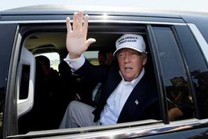 اتومبیل تشریفاتی دونالد ترامپ قوی تر است یا ولادیمیر پوتین!