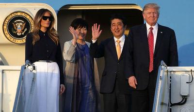 دسر نتانیاهو برای نخست وزیر ژاپن
