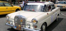 خودروهای قدیمی به مناسبت روز جهانی موزه ها در تهران رژه رفتند!