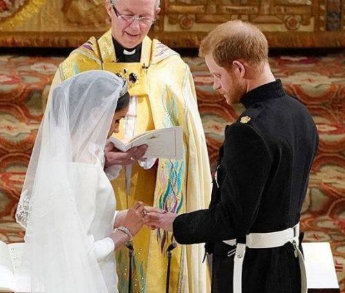عروسی شاهزاده هری و مگان مارکل