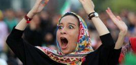 شادی مردم پس از پیروزی تیم ملی ایران +سخن زننده گل به خودی در این بازی
