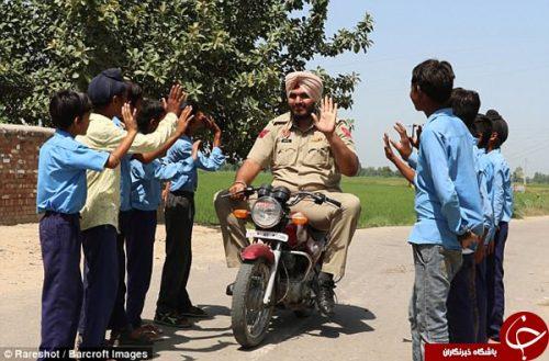 قدبلندترین افسر پلیس