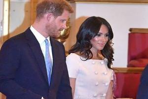 نحوه نشستن مگان مارکل در کنار ملکه انگلستان جنجال آفرید!