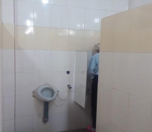 دستشویی های ایستاده