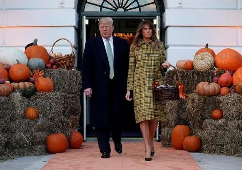 دونالد ترامپ در جشن هالووین