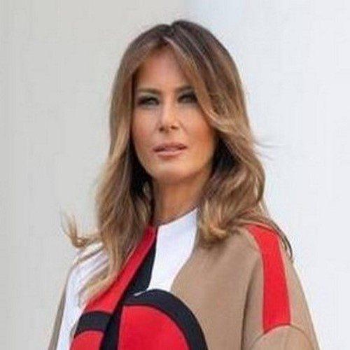 سوژه شدن مدل مانتو ملانیا ترامپ و دغدغه این روزهای برای تزئین کاخ سفید!