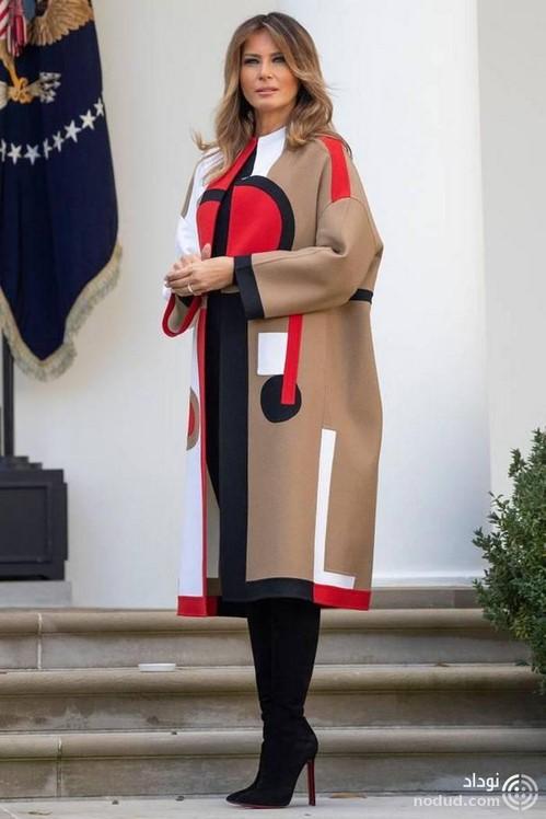 مانتو ملانیا ترامپ