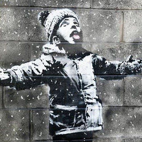 جنجال جدیدترین نقاشی بنکسی روی دیوار آلودهترین شهر بریتانیا