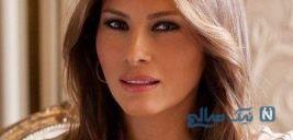 بلندتر نشان دادن قد ملانیا ترامپ در عراق سوژه شد!