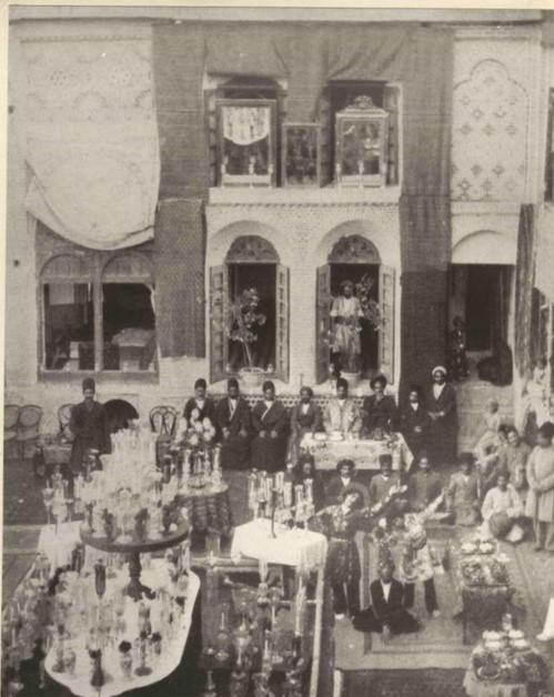 عروسی در دوره قاجار