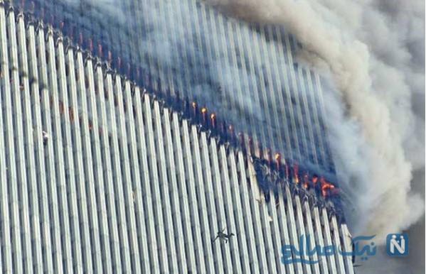 عکسی از خودکشی در حادثه 11 سپتامبر که جاودان شد!