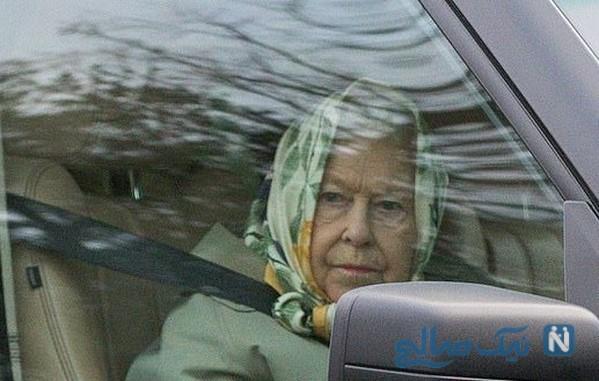 رانندگی ملکه الیزابت
